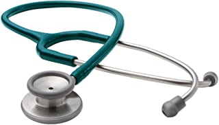 ADC Adscope 603 Premium Stainless Steel Clinician Stethoscope with Tunable AFD Technology,, Teal