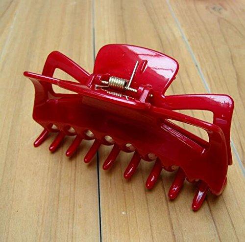 Grande Mollette Capelli Granchio Pinza Pinza a capelli Big Crab Claws capelli per le donne accessori E02