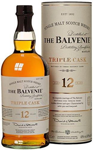 Balvenie 12 Years Old Triple Cask mit Geschenkverpackung  Whisky (1 x 1 l)