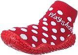 Playshoes Mädchen Aqua-Socke Punkte Dusch-& Badeschuhe, Rot (rot 8), 18/19 EU