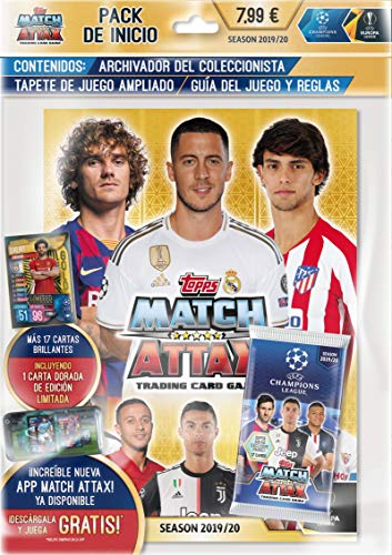 Topps Match Attax EXTRA 10 carte 7 Packs