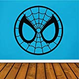 yiyitop Spiderman Tête Logo Comics Accessoires de Décoration pour La Maison Film...