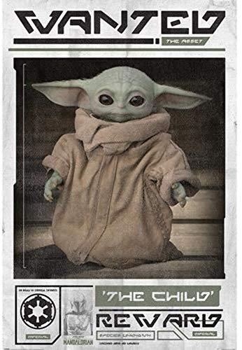 "Empire Interactive - Poster ""Lobcede.be Star Wars, The Mandalorian"", 61 x 91 cm"