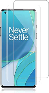 Compatible with Oneplus 9 pro Screen Protector, [Fingerprint Recognition] [Case Friendly] [Full Coverage], TPU Ultra HD So...