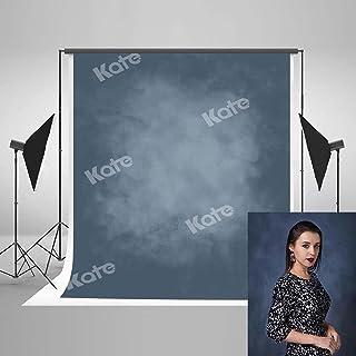 KateHome PHOTOSTUDIOS 1.5x2.2m (5x7ft) azul negro abstracto fotografía fondo azul oscuro gradiente fotografía fondos profe...