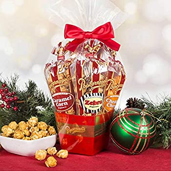 Popcornopolis Mini 5-cone Variety Popcorn Gift Basket Gluten Free  1 Gift Basket