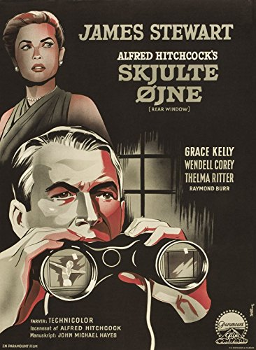 Rear Window (1954) Denmark Movie Poster 24'x36'