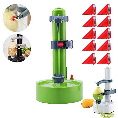 Electric Peeler Rotato Express20  10 Replacement Blades,Automatic Rotating Fruits amp Vegetables Cutter Apple Paring Machine  Kitchen Peeling Tool