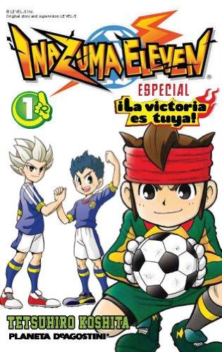Inazuma Eleven ¡La victoria es tuya! nº 01/02 (Manga Kodomo) (Spanish Edition)