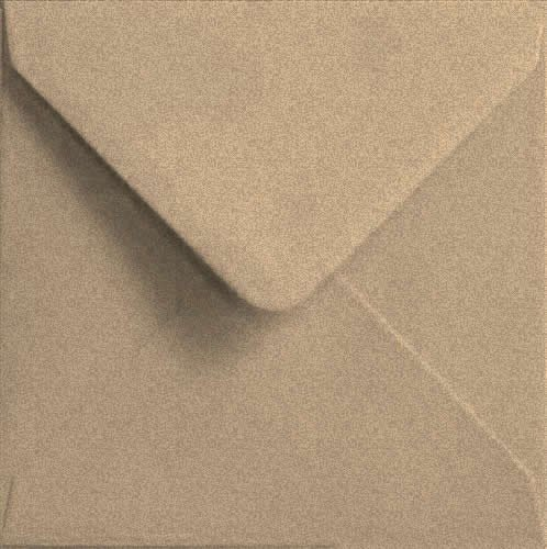 Todokraft Lot de 25enveloppes en papier Kraft recyclé 150x 150mm