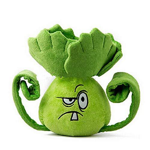 dingtian Plüschtier 1Pc 15cm Schöne Plüsch Spielzeug Pflanzen vs Zombies Kawaii Weichen Geschenk für Kinder Geburtstag Präsentieren Spiel Spielzeug