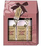 Tuscan Hills Cherry Blossom Luxurious Bath & Shower Body Care Set (3 Piece Bath Set Cherry Blossom)