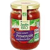 Jardin Bio - Provencale Sauce jar Glass 250G - Packung mit 5