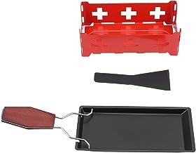 Fondoir à fromage à raclette antiadhésif, fondoir à fromage aux chandelles, pour la maison pour la cuisine