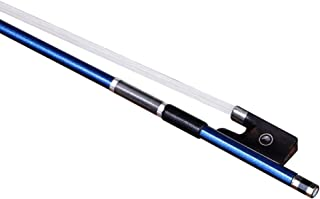 Violin Bow Carbon Fiber Violins Bow 4/4 Blue With Bow Case