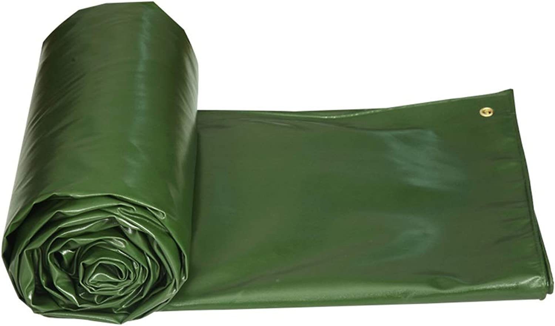 Jia He Tarpaulin Padded Tarpaulin Tarpaulin Tarpaulin Tarpaulin Tent Outdoor Truck Garden Gardening Tarpaulin Tarpaulin Canvas, Green, 9 Sizes @@ (Size   4mX3m)