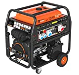 Generador Stelvio-S 22,5 kVA 18.000 W 18 kW 400 V – 3 x 6 kW 230 V profesional Gasolina Generador...