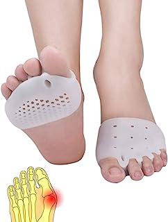 Metatarsal Pads, Toe Separator, Gel Metatarsal Cushion Toe Separators, (4 PCS),New Material, Forefoot Pads, Toe Spacers,Br...