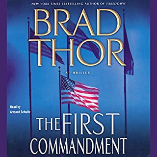 The First Commandment audiobook cover art