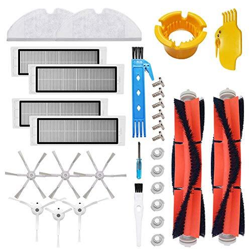 Accessori per aspirapolvere robot Xiaomi Mi - Spazzole laterali, Filtri HEPA, Spazzola principale, Filtro serbatoio acqua panni scopa, Parti Mijia Roborock E5 E6 E20 E25 E35 S6 S5 S50 S51 Robock2