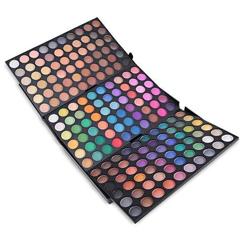 180 Farben Lidschatten Makeup Palette - Augenschatten Pulver Professional Make Up Kosmetik - Satte Farben Eyeshadow Palette Kit #2