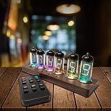 TTLIFE Leuchtstoffröhre mit Wecker, Sprachübertragung, Bluetooth-Steuerung, IV-11Tubes –...