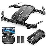 Potensic Faltbare Drohne mit Kamera, 1080P Mini Drohne WiFi FPV Quadrocopter mit...