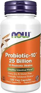 Now Foods, Probiotic-10, 25 Billion, 100 Veg Capsules