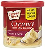 Duncan Hines Creamy Home-Style Frosting, Cream Cheese, 16 Ounce