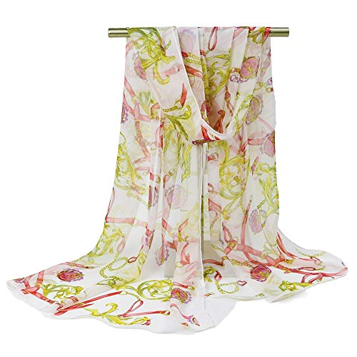 Nobrand dames strandlaken mode elegante rechthoekige sjaal chiffon materiaal licht en dun