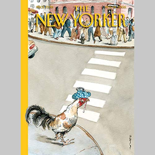 The New Yorker (Nov. 14, 2005)                   By:                                                                                                                                 Hendrik Hertzberg,                                                                                        Dana Goodyear,                                                                                        Jane Mayer,                   and others                          Narrated by:                                                                                                                                 uncredited                      Length: 2 hrs and 1 min     Not rated yet     Overall 0.0