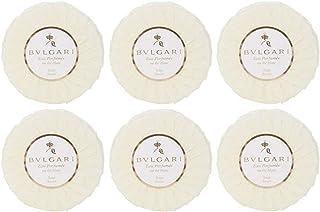 Bvlgari Au the Blanc (White Tea) Pleated Soap 50g/1.76oz - Set of 6
