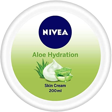 NIVEA Soft, Aloe Moisturising Cream, All Skin Types, 200ml