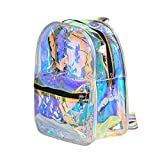 STRIPES Holographic PVC Backpack Children/Teens Girls