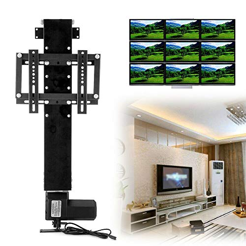 TV Stand Lift, Electric Automatic LCD Motorised Television TV Lift Mount Bracket TV Mount Stand TV Lifting Mount