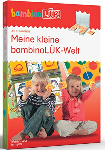 bambinoLÜK-Sets: bambinoLÜK-Set: 2/3/4 Jahre: Meine kleine bambinoLÜK-Welt: Kasten + Übungsheft/e / 2/3/4 Jahre: Meine kleine bambinoLÜK-Welt (bambinoLÜK-Sets: Kasten + Übungsheft/e)