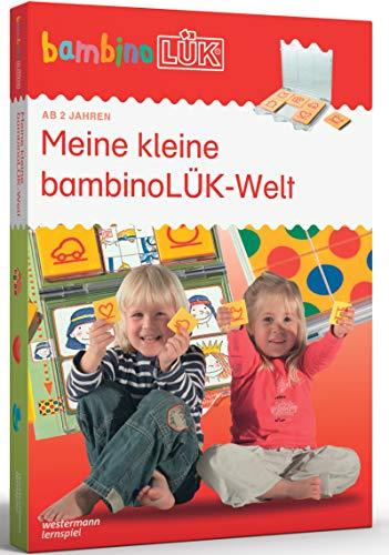 bambinoLÜK-Sets: bambinoLÜK-Set: 2/3/4 Jahre: Meine kleine bambinoLÜK-Welt (bambinoLÜK-Sets: Kasten +...