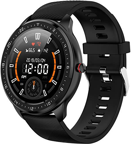 Voll Touchscreen Smartwatch Mode Fitness Tracker Schrittzähler Sportuhr Pulsmesser Schlafmonitor Armbanduhr für IOS Android