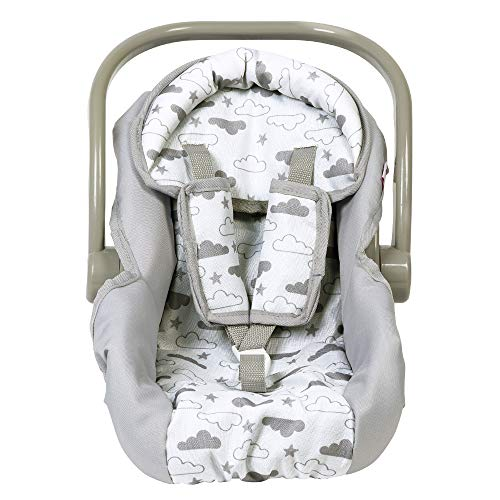 Adora Baby Doll Car Seat - Twinkle Stars Car Seat Carrier, Fits Dolls Up to 20 inches, Gender Neutral Design