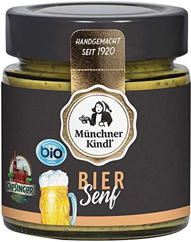 Münchner Kindl Senf Bio Bier Senf (2 x 125 ml)