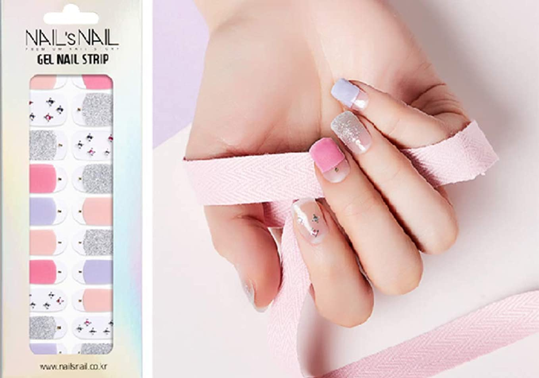 多数の作ります技術的な\貼るジェルネイル/Nail's Nail(ネイルスネイル) ジェルネイルストリップ 103