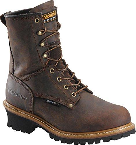 Men's Carolina 8' Steel Toe Loggers Boot