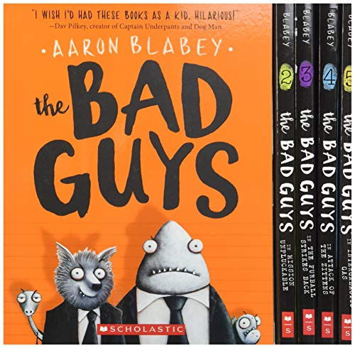 The Bad Guys Box Set: Books 1-5