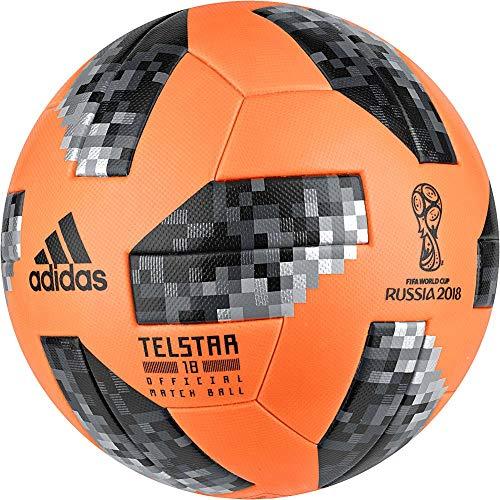 Adidas Fútbol WM 2018OMB Winter Balón de fútbol Naranja