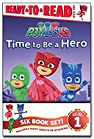 PJ Masks Ready-to-Read Value Pack: Time to Be a Hero; PJ Masks Save the Library!; Owlette and the Giving Owl; Gekko Saves the City; Power Up, PJ Masks!; Race for the Ring