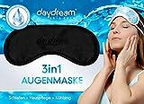 daydream patentierte Schlafmaske mit Retinol -Rückseite, schwarz (B-8000) für Frauen & Männer |...
