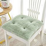 Color sólido silla de ratón de cocina Sillas de la plaza de asiento for sillas de jardín silla de la felpa de ratón Cojines con lazos Espesar al aire libre cojines del asiento cojines de los asientos