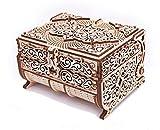 Wood Trick - Caja Treasurebox de madera con cristales Swarovski de 192 piezas.