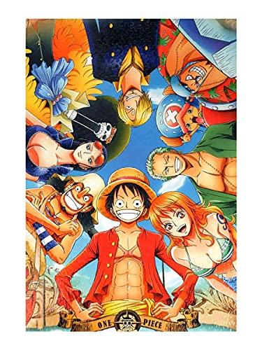 CosplayStudio One Piece Puzzle de 1000 pièces Motif Ruffy & Crew