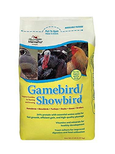 Manna Pro Gamebird Showbird Crumbles | Formulated with...